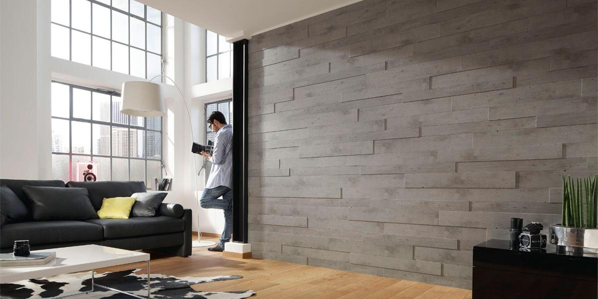 Плитка пвх на стене в интерьере фото